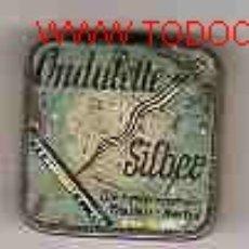 Cajas y cajitas metálicas: RARISIMA CAJA DE AGUJAS DE COSER. Lote 26611962