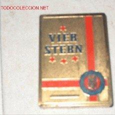 Cajas y cajitas metálicas: CJA DE CIGARRILLOS VIER STERN. Lote 1922556