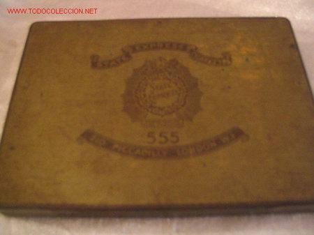CIGARROS STATE EXPRESS (Coleccionismo - Cajas y Cajitas Metálicas)