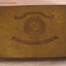 Cajas y cajitas metálicas: CIGARROS STATE EXPRESS. Lote 3628545