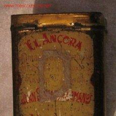Cajas y cajitas metálicas: EL ANCORA - VALENCIA. Lote 3720055