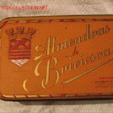 Cajas y cajitas metálicas: ALMENDRAS BRIVIESCA - DESIDERIO ALONSO. Lote 3720065