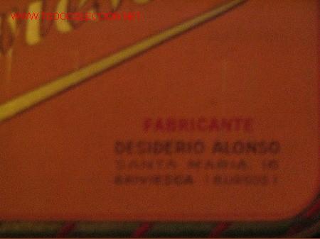 Cajas y cajitas metálicas: ALMENDRAS BRIVIESCA - DESIDERIO ALONSO - Foto 3 - 3720065