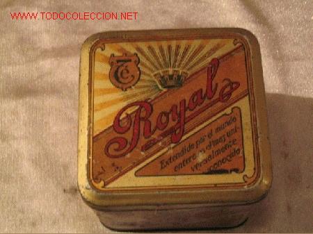 TE ROYAL (Coleccionismo - Cajas y Cajitas Metálicas)