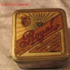 Cajas y cajitas metálicas: TE ROYAL. Lote 3771290
