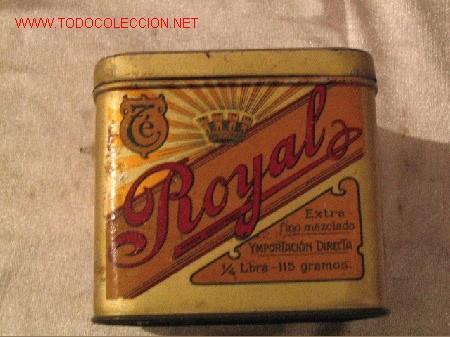 Cajas y cajitas metálicas: TE ROYAL - Foto 2 - 3771290