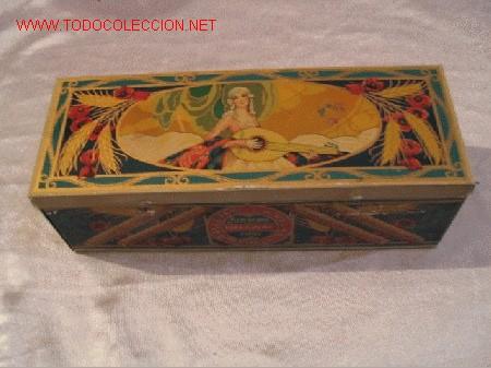 CAJA HOJALATA (Coleccionismo - Cajas y Cajitas Metálicas)