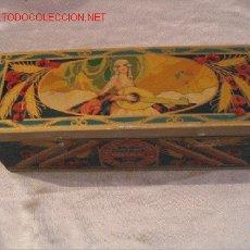 Cajas y cajitas metálicas: CAJA HOJALATA. Lote 5439736