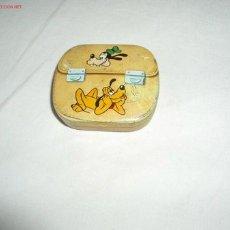 Cajas y cajitas metálicas: ANTIGUA CAJITA DE WALT DISNEY,HOJALATA. Lote 14088914