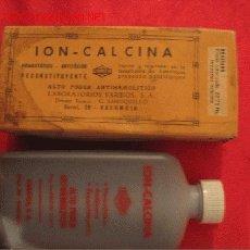 Cajas y cajitas metálicas: ION -CALCINA - LABORATORIOS FARBIOS - VALENCIA. Lote 3181596