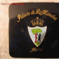 Cajas y cajitas metálicas: PITILLERA CON PUBLICIDAD DE LA MONCLOA. Lote 3225278