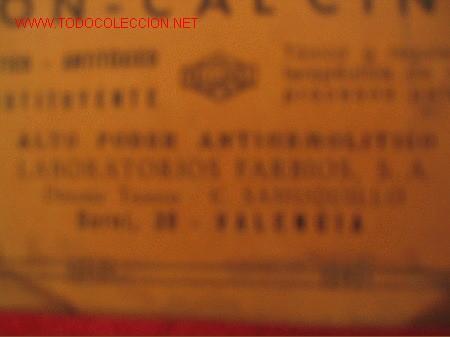 Cajas y cajitas metálicas: ION -CALCINA - LABORATORIOS FARBIOS - VALENCIA - Foto 4 - 3181596