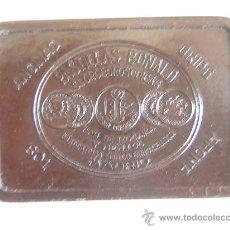 Cajas y cajitas metálicas: CAJITA MEDICINA PEQUEÑA ANTIGUA DE BAQUELITA. Lote 26810481