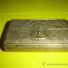 Cajas y cajitas metálicas: CAJA DE METAL PARA EL TABACO. Lote 10126714