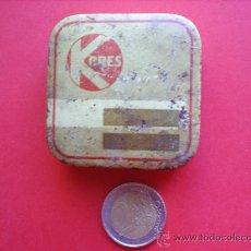 Cajas y cajitas metálicas: CAJITA METALICA-KORES-. Lote 20616779
