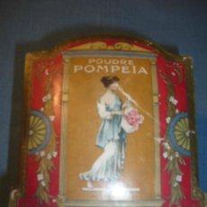 Cajas y cajitas metálicas: CAJA DE CARTON DE POMPEIA PARIS. Lote 11179094
