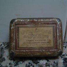 Cajas y cajitas metálicas: CAJITA GYRALDOSE DE FARMACIA. Lote 11242360