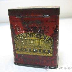 Cajas y cajitas metálicas: CAJA METALICA DE HORNIMANS, PURE TEA. Lote 19108430