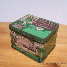 Cajas y cajitas metálicas: CAJA METALICA INGLESA-MODERNISTA.. Lote 97740092