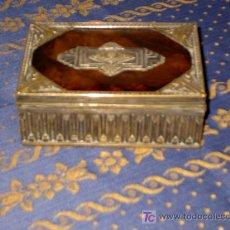 Cajas y cajitas metálicas: CAJA ART NOUVEAU.. Lote 27513877