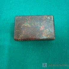 Cajas y cajitas metálicas: CAJITA PARA CUCHILLAS DE AFEITAR. Lote 26718652