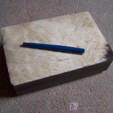 Cajas y cajitas metálicas: CAJA CIGARRERA MUSICAL. Lote 34077543