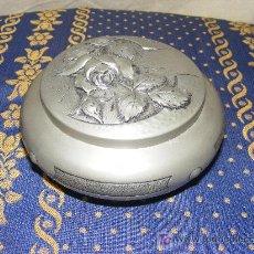 Cajas y cajitas metálicas: CAJA DE ZINC FIRMADA RISFAL. Lote 27513878