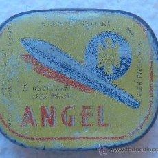 Cajas y cajitas metálicas: CAJA PLUMILLAS ANGEL-HOJALATA . Lote 14233475