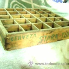Cajas y cajitas metálicas: CAJA CERVEZAS EL TURIA. Lote 26675576