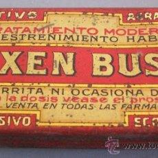 Cajas y cajitas metálicas: CAJA METALICA DE FARMACIA: LAXEN BUSTO (7,5X4CM APROX). Lote 21956417