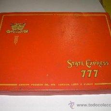 Cajas y cajitas metálicas: ANTIGUA CAJA DE TABACO. Lote 27110956
