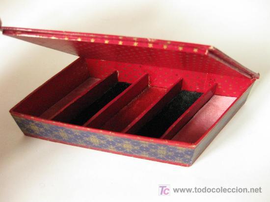 Bonita caja de carton y papel de los a os 20 co comprar cajas antiguas y cajitas met licas en - Cajas de carton bonitas ...