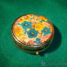 Cajas y cajitas metálicas: CAJITA PASTILLERO.. Lote 16145640