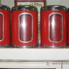 Cajas y cajitas metálicas: RECIPIENTES PARA LEGUMBRES O PASTAS . Lote 27551733