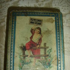 Cajas y cajitas metálicas: CAJA DE CUENTOS DE CALLEJA EN CHAPA LITOGRAFIADA. Lote 17961294