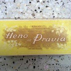 Cajas y cajitas metálicas: CAJA ANTIGUA DE HENO DE PRAVIA. Lote 26907067