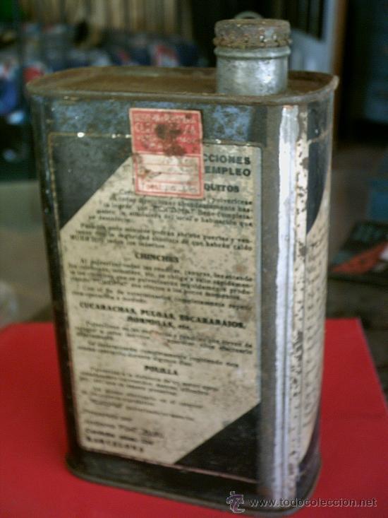 Cajas y cajitas metálicas: CAJA METALICA DE INSECTICIDA, 20X11X6 - Foto 2 - 17262798