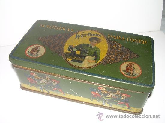 ANTIGUA CAJA METALICA LITOGRAFIADA (Coleccionismo - Cajas y Cajitas Metálicas)