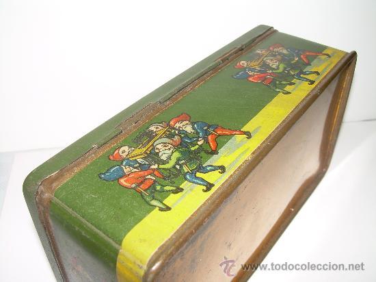 Cajas y cajitas metálicas: ANTIGUA CAJA METALICA LITOGRAFIADA - Foto 3 - 24547693