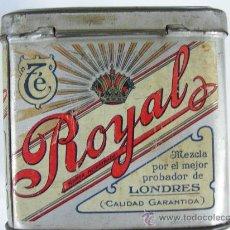 Cajas y cajitas metálicas: LATA DE TE THE ROYAL. Lote 19018556