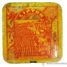 Cajas y cajitas metálicas: LATA DE TE THE LIPTON. Lote 19018617