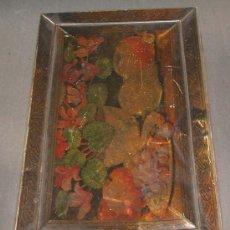 Cajas y cajitas metálicas: ART-NOUVEAU. CAJA DE CHAPA . Lote 22720102