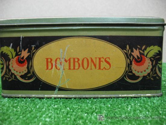 Cajas y cajitas metálicas: ¡OFERTA POR LIQUIDACIÓN SOLO 4 DÍAS! Caja de bombones de hojalata - Foto 4 - 23808880