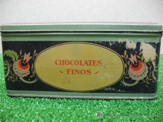 Cajas y cajitas metálicas: ¡OFERTA POR LIQUIDACIÓN SOLO 4 DÍAS! Caja de bombones de hojalata - Foto 6 - 23808880