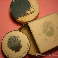 Cajas y cajitas metálicas: ANTIGUAS CAJAS. POLVERAS. Lote 26372965