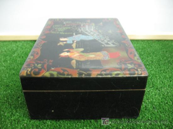Cajas y cajitas metálicas: CAJA JOYERO CON MOTIVOS CHINOS - Foto 5 - 20226029