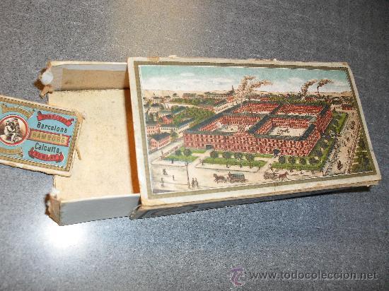 Cajas y cajitas metálicas: Caja cartón para agujas máquina de coser Wertheim - Foto 2 - 24459116