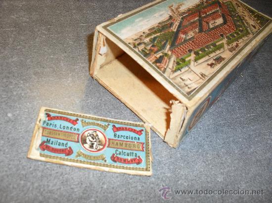 Cajas y cajitas metálicas: Caja cartón para agujas máquina de coser Wertheim - Foto 3 - 24459116