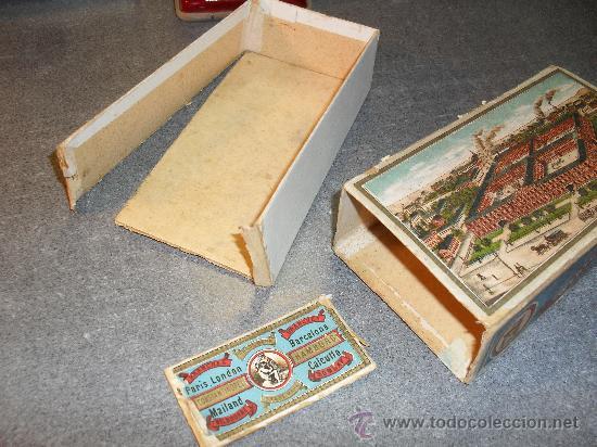 Cajas y cajitas metálicas: Caja cartón para agujas máquina de coser Wertheim - Foto 4 - 24459116