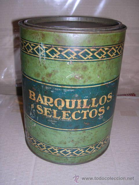 Cajas y cajitas metálicas: CAJA DE LATA LITOGRAFIADA,BARQUILLOS SELECTOS ,LIT. DE ANDREIS,BADALONA,20X16 CM,VER FOTOS, - Foto 4 - 20363681